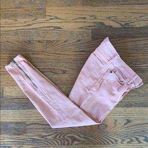 Current/Elliot low rise skinny crop jeans
